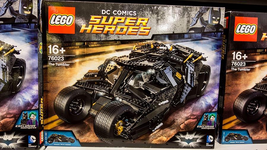 Lego Batman batmobile kit