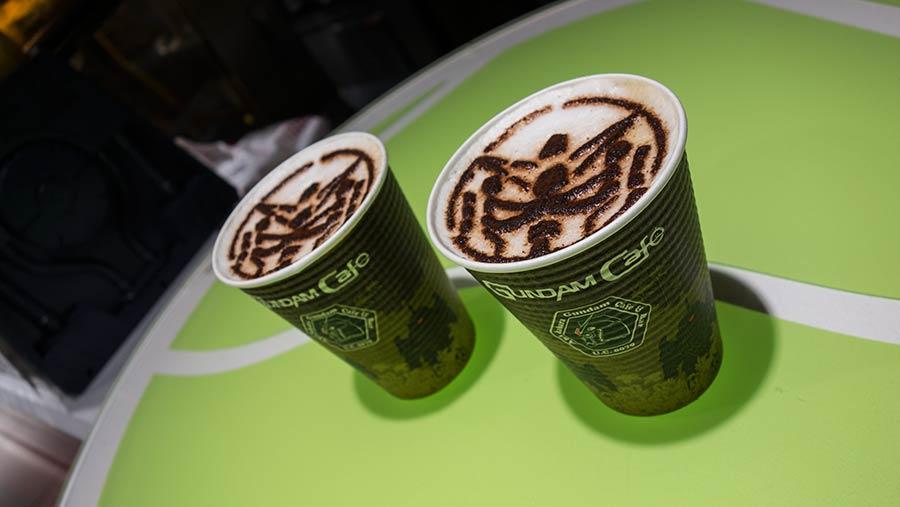 Gundam Cafe, coffee, Tokyo