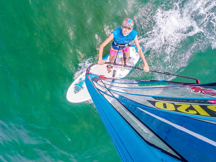 Windsurfing French Riveria