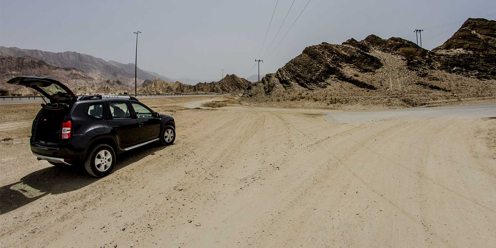 Long Desert Roadtrips through Oman
