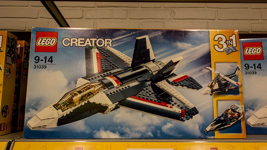 Lego City plane kit