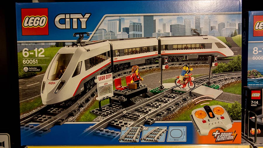 Lego City train kit