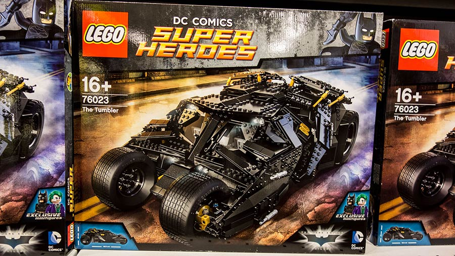 Lego Batman batmobile kit