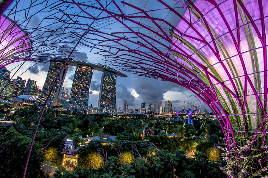 Singapore, Asia's gateway city