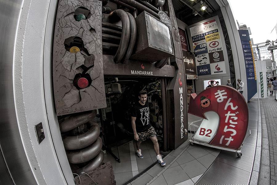 Mandarake store, Shibuya, Tokyo
