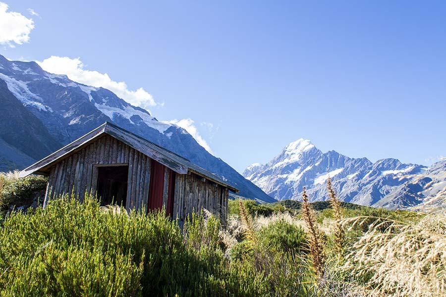 Hooker Valley Track - New Zealand walking tracks