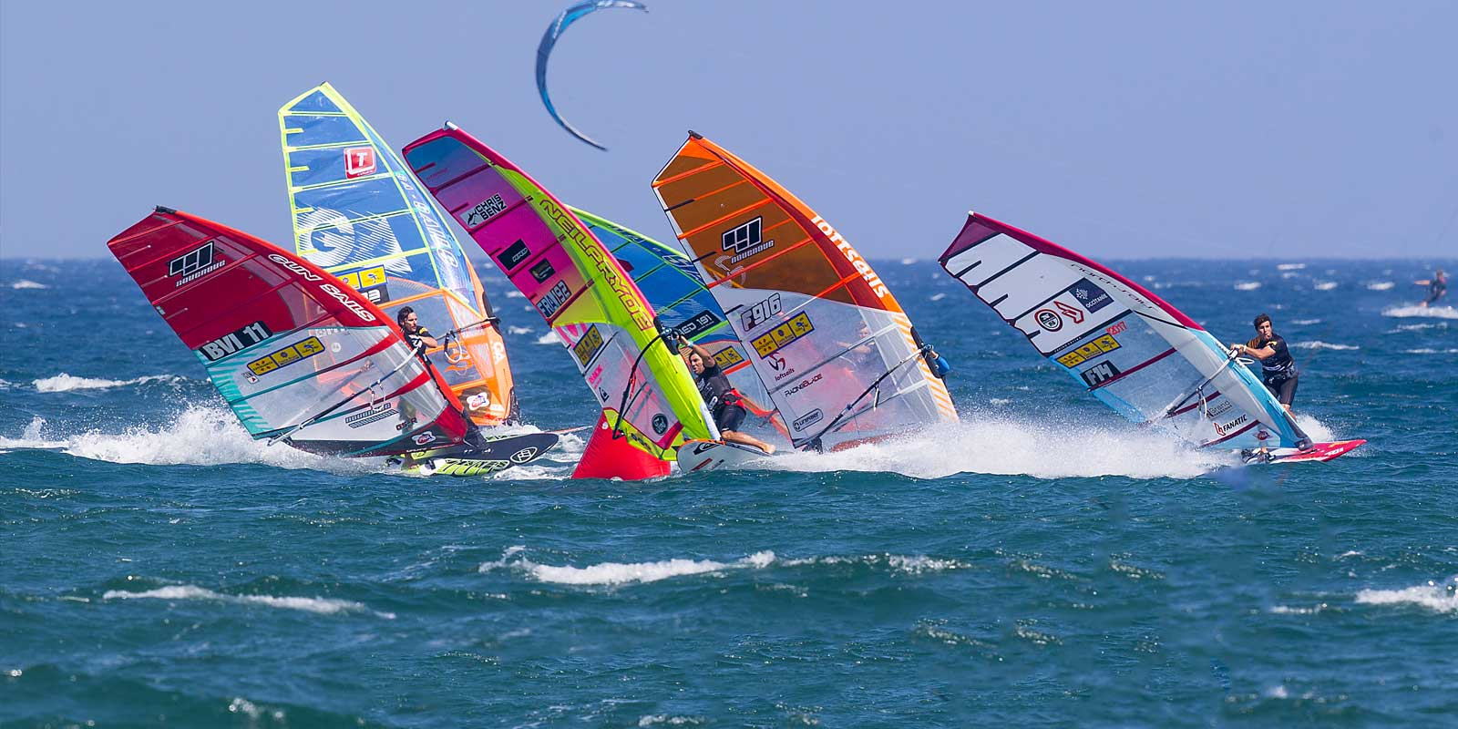Taking Jaś to his first Windsurfing World Cup in Spain